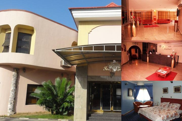 Solitude Hotel Victoria Island photo collage