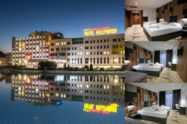 Hotel Hollywood photo collage