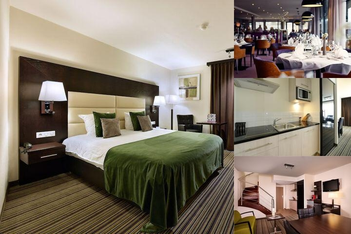 Van Der Valk Charleroi Airport Hotel photo collage