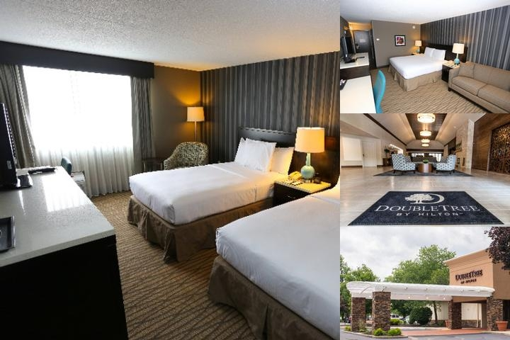 Doubletree by Hilton Cleveland Westlake photo collage