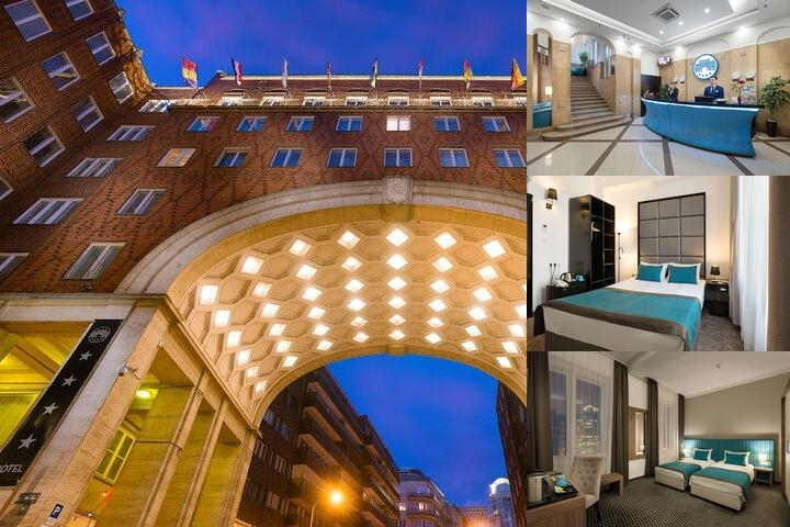 Arcadia Hotel Budapest photo collage
