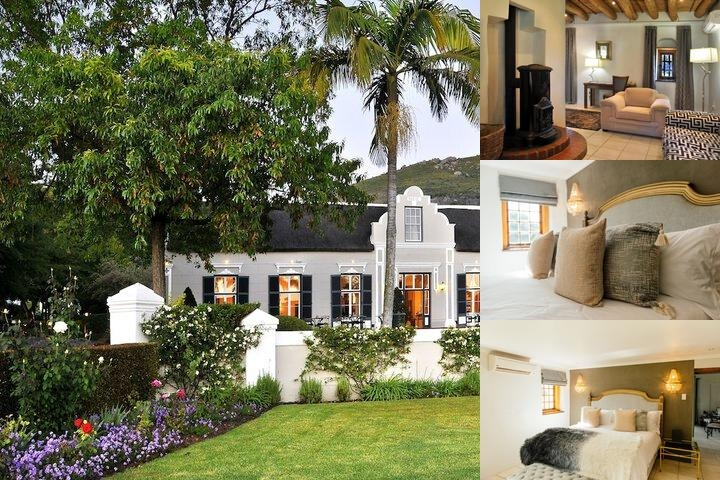The Grande Roche Hotel photo collage