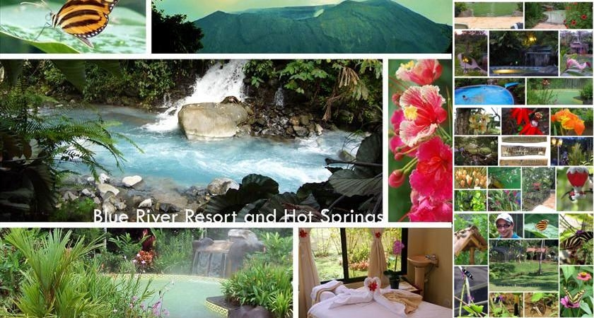 Blue River Resort & Hot Springs photo collage