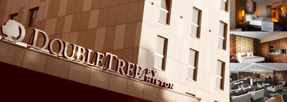 Doubletree by Hilton Krakow Hotel & Convention Center photo collage
