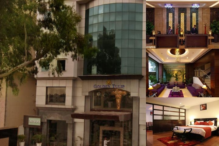 Golden Tulip Amritsar photo collage