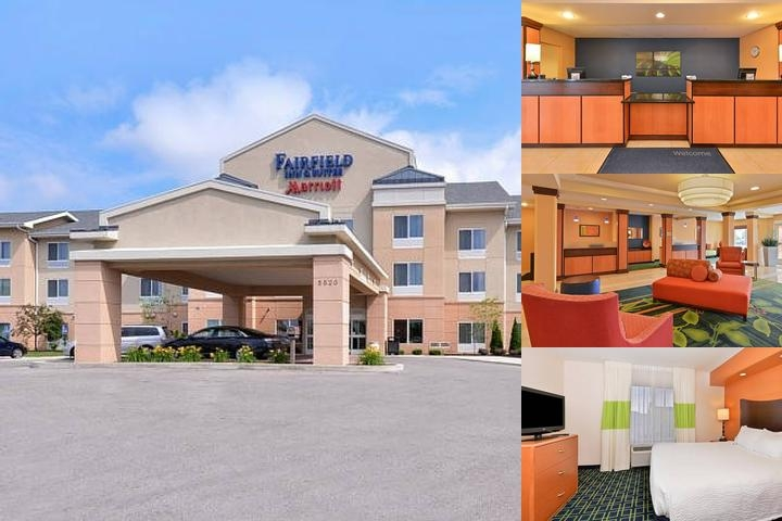Fairfield Inn & Suites Columbus / West photo collage