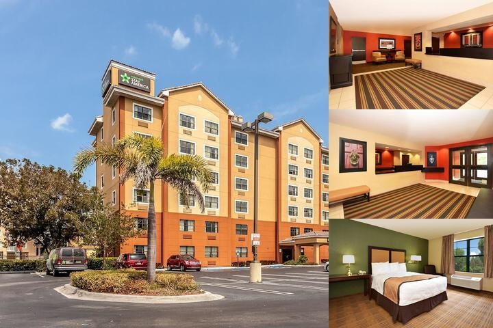 Extended Stay America Brickell Port of Miami photo collage