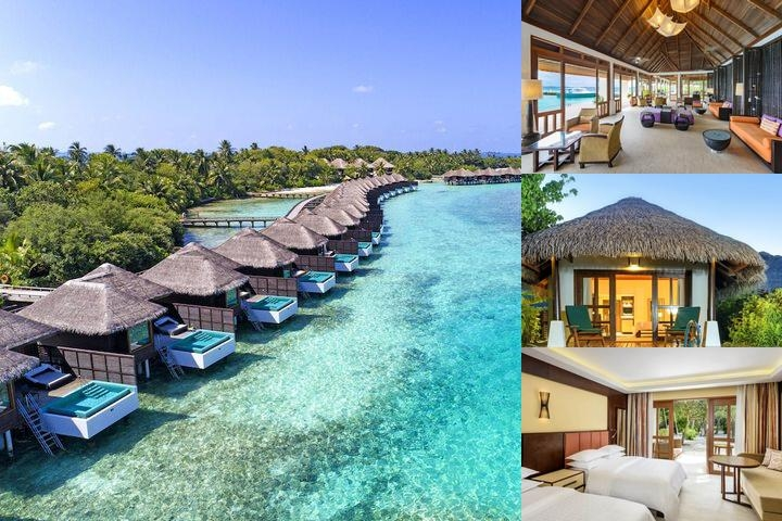 Sheraton Maldives Full Moon Resort & Spa photo collage
