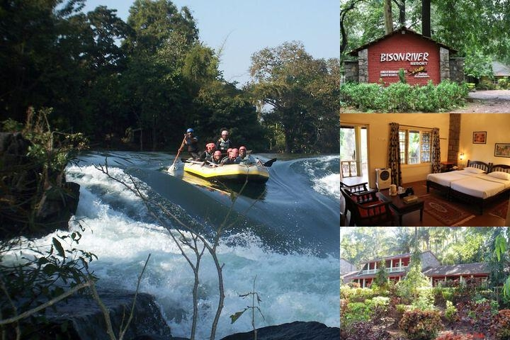 Bison River Resort Dandeli photo collage