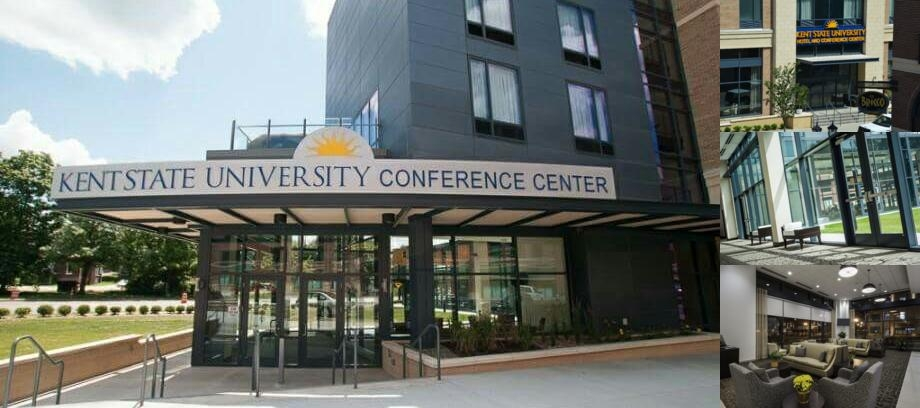 Kent State University Hotel & Conference Center photo collage