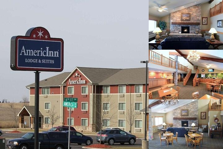 Americinn Lodge & Suites of Cedar Rapids Iowa photo collage