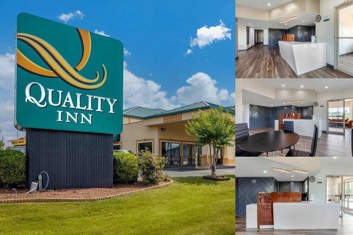 Quality Inn Auburn Alabama photo collage