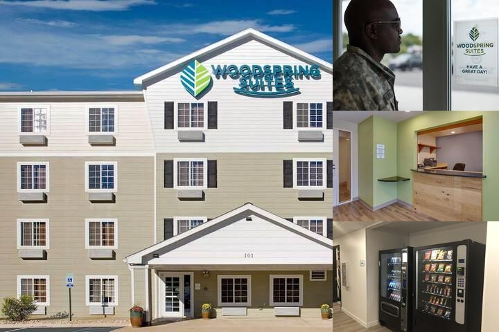 Woodspring Suites Birmingham South photo collage