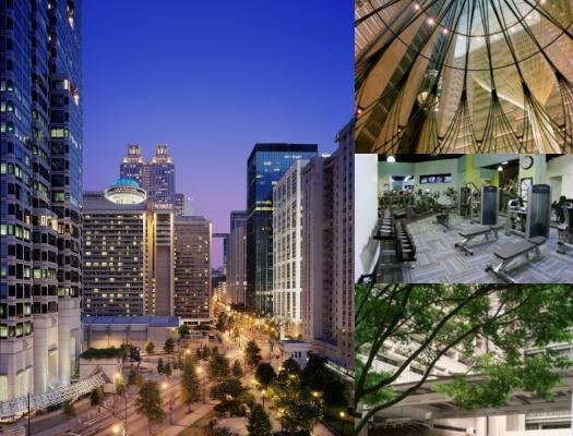 Hyatt Regency Atlanta Downtown photo collage