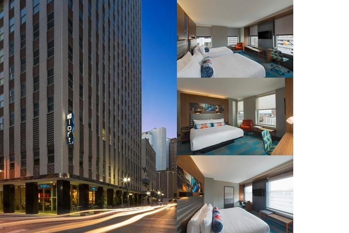 Aloft New Orleans Downtown photo collage