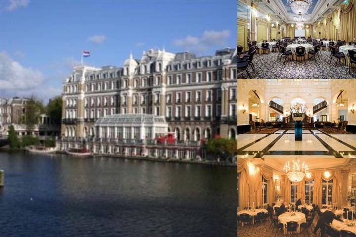 Intercontinental Amstel Amsterdam photo collage