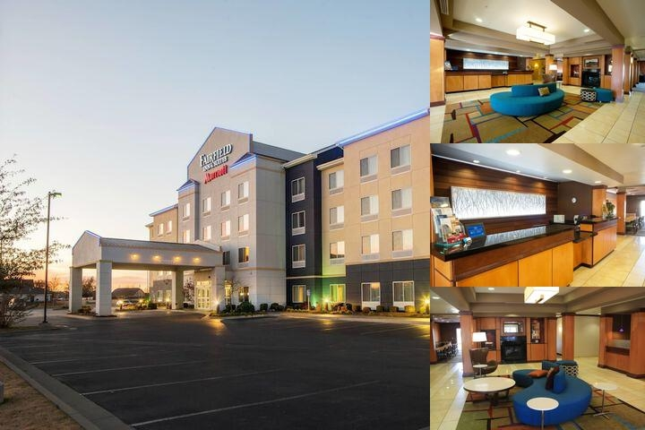 Fairfield Inn & Suites by Marriott Muskogee photo collage