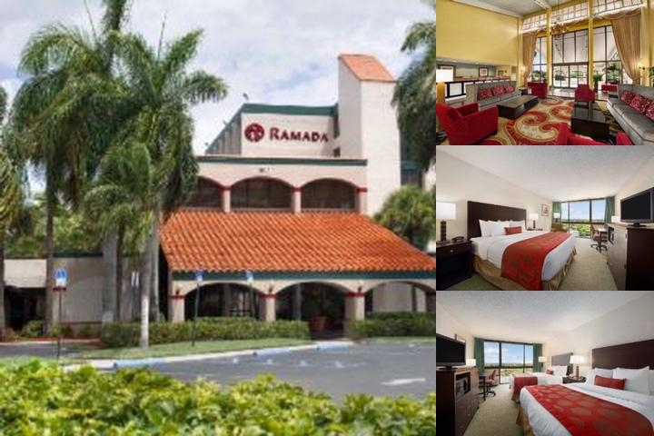 Ramada West Palm Beach Airport photo collage