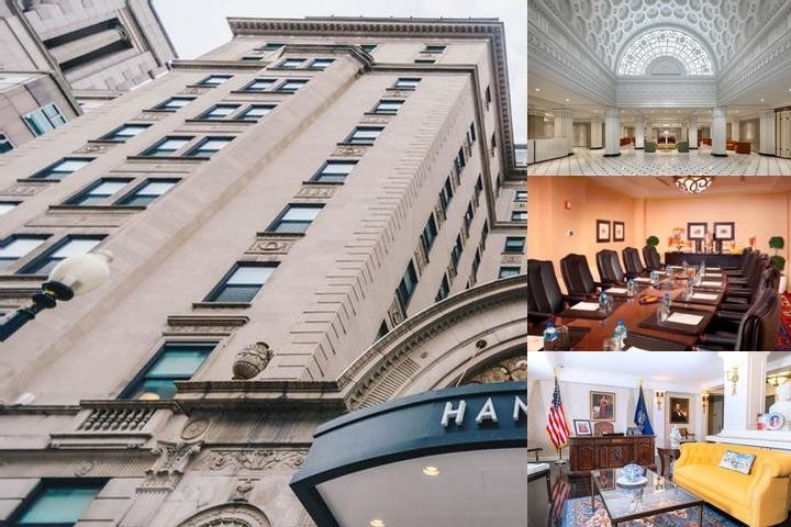 The Hamilton Hotel Washington Dc photo collage