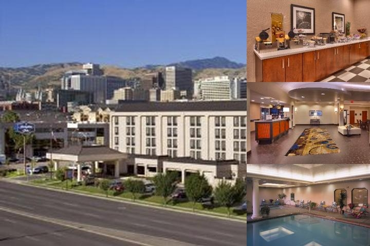 Hampton Inn Salt Lake City Downtown photo collage