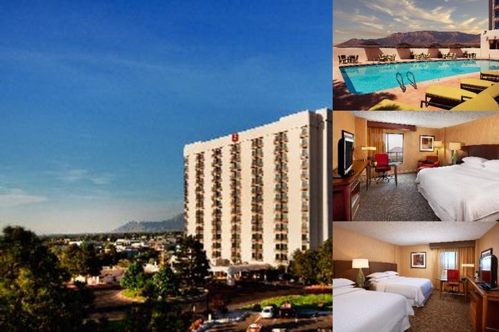 Sheraton Albuquerque Airport Hotel photo collage