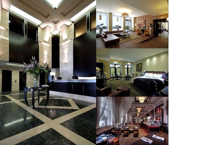 Le Place D'armes Hotel & Suites photo collage