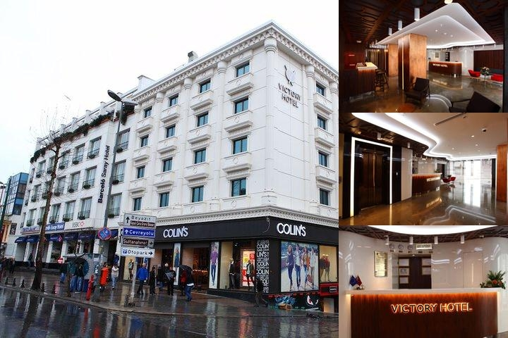 Victory Hotel & Spa Istanbul photo collage