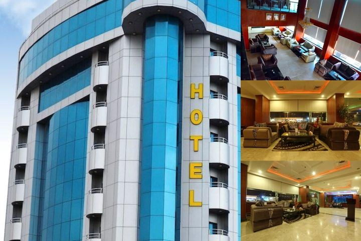 Crown Tower Hotel photo collage