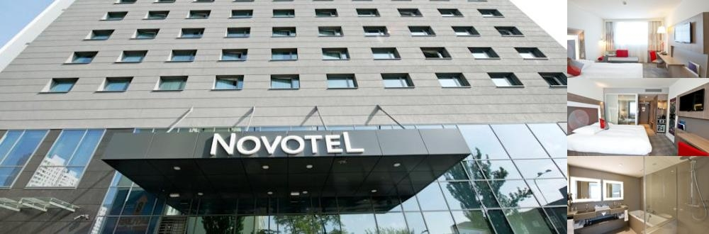 Novotel Lodz Centrum photo collage