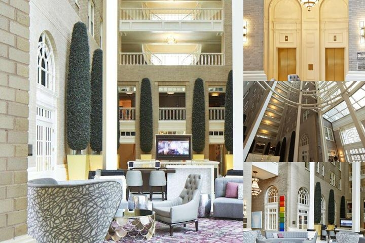 Georgian Terrace Hotel photo collage