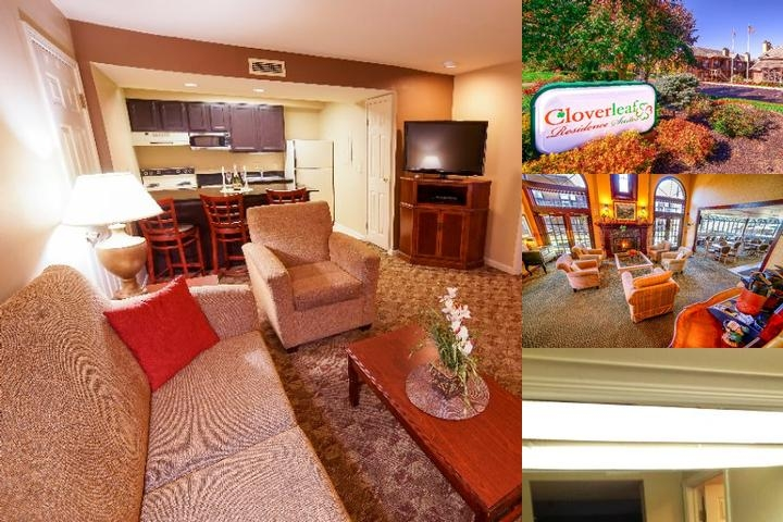 Cloverleaf Residence Suites photo collage