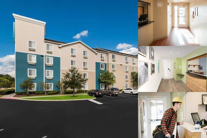 Woodspring Suites Orlando East photo collage
