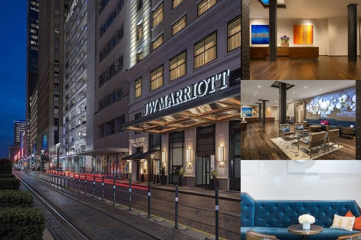 JW Marriott Houston Downtown photo collage
