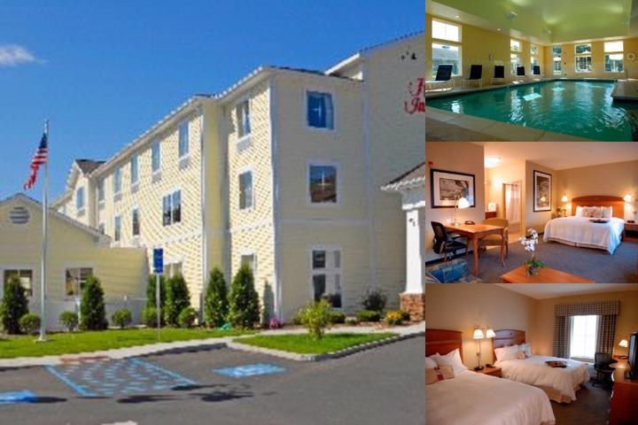 Hampton Inn & Suites Mystic photo collage