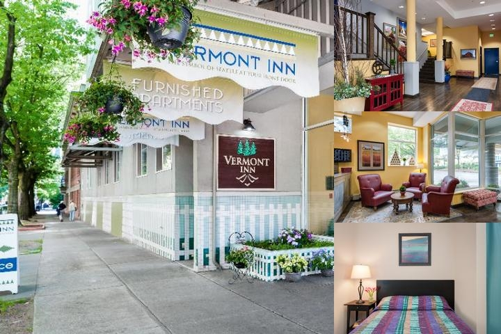 Vermont Inn Apartments photo collage