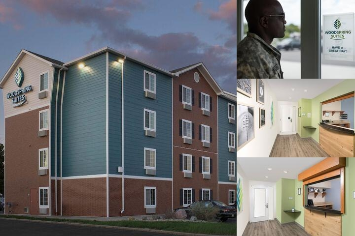 Woodspring Suites Cincinnati Sharonville photo collage