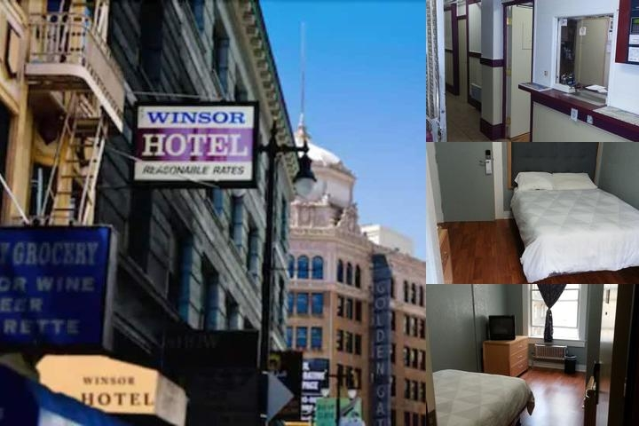 Winsor Hotel photo collage