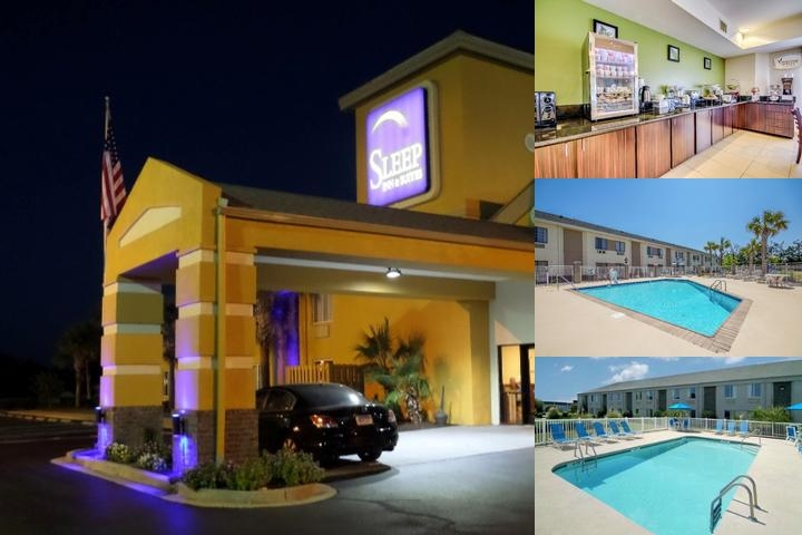 Sleep Inn & Suites Near Outlets photo collage