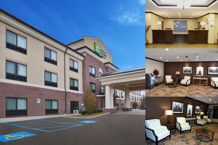 Holiday Inn Express & Suites Washington Meadow Lands photo collage