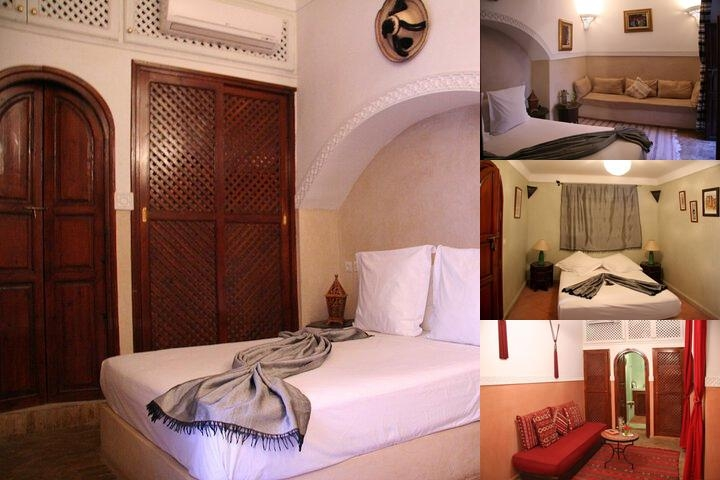 Riad Zen House photo collage