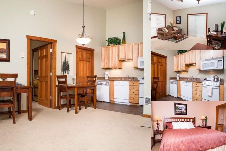 Glacier Ridge Suites photo collage