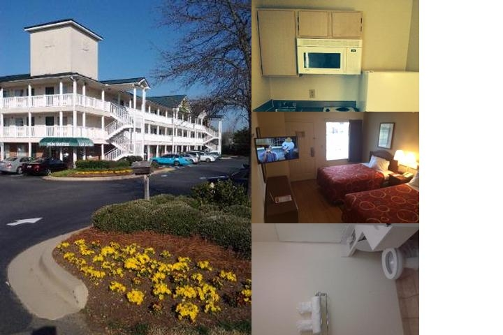 Sun Suites Charlotte Mathews photo collage