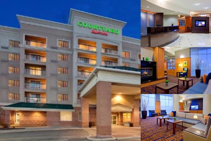 Courtyard by Marriott Vaughan photo collage