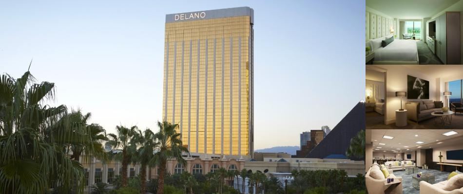 Delano Las Vegas at Mandalay Bay photo collage