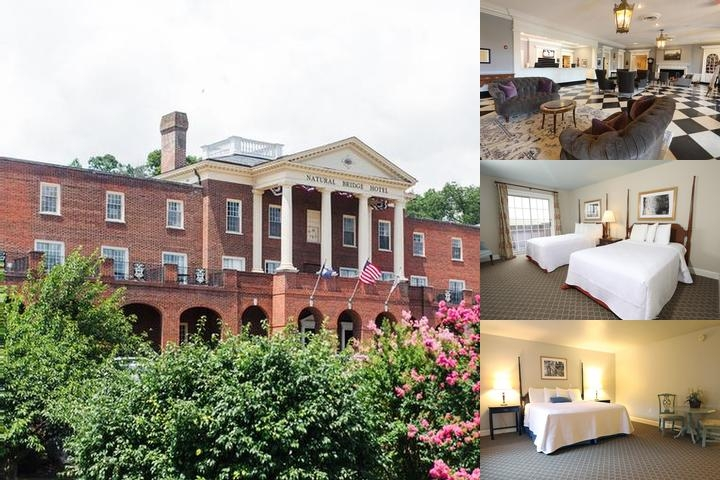 Natural Bridge Park & Historic Hotel photo collage