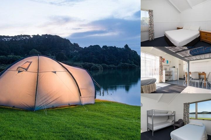 Waitangi Holiday Park photo collage