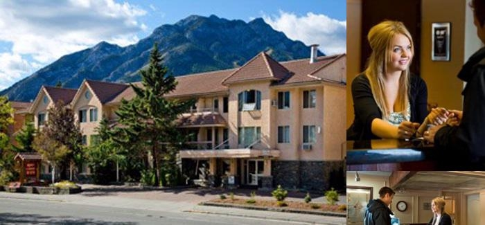 Banff Red Carpet Inn photo collage
