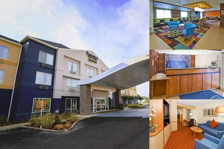Fairfield Inn & Suites Pearl photo collage