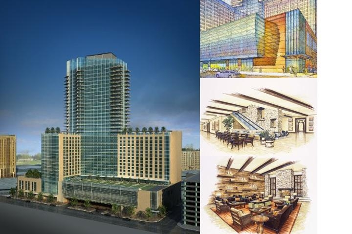 Omni Fort Worth Hotel photo collage