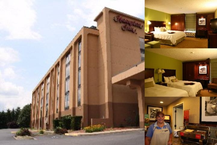 Morgantown Hampton Inn photo collage